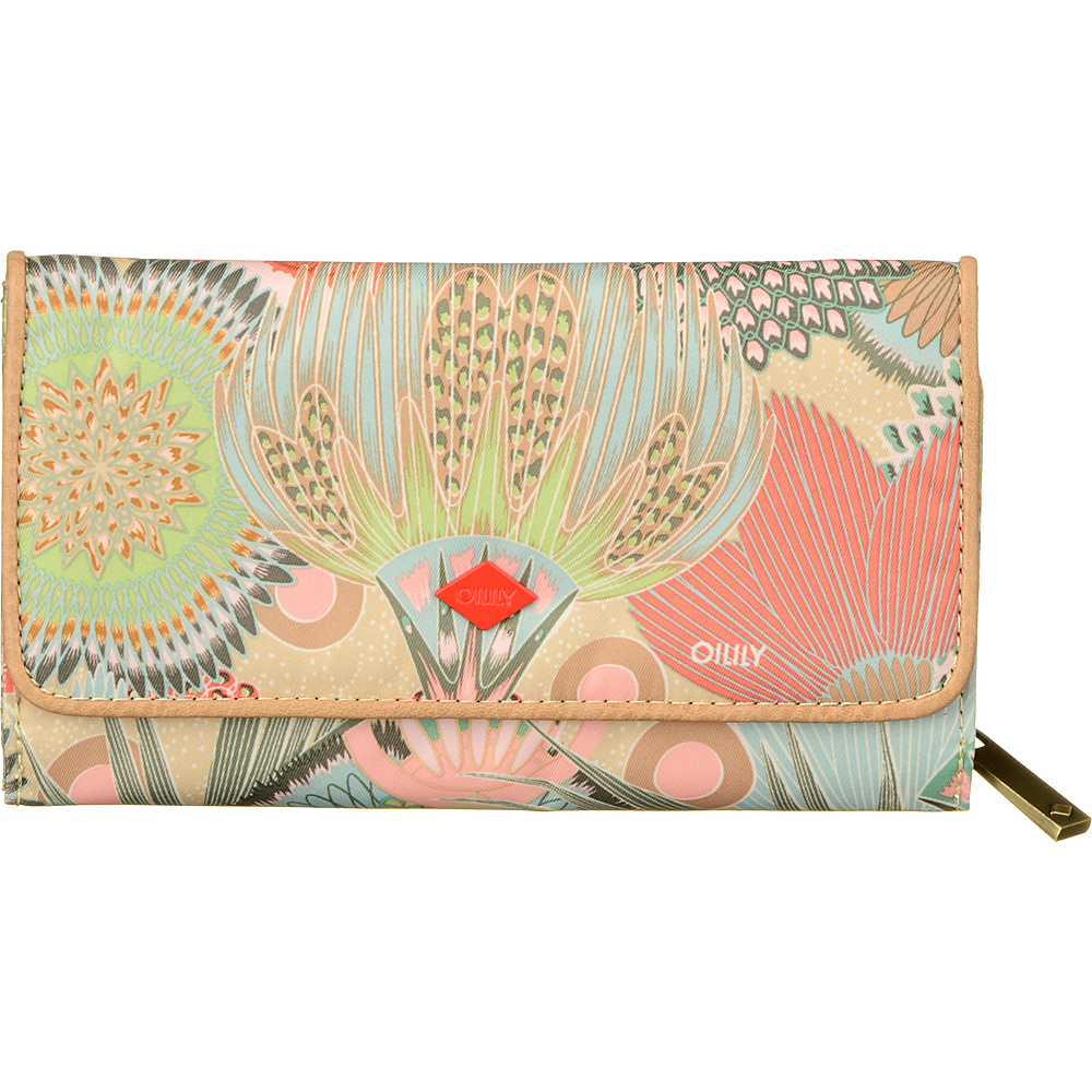 Oilily Large Wallet Peach Rose Oilily Women s Wallets