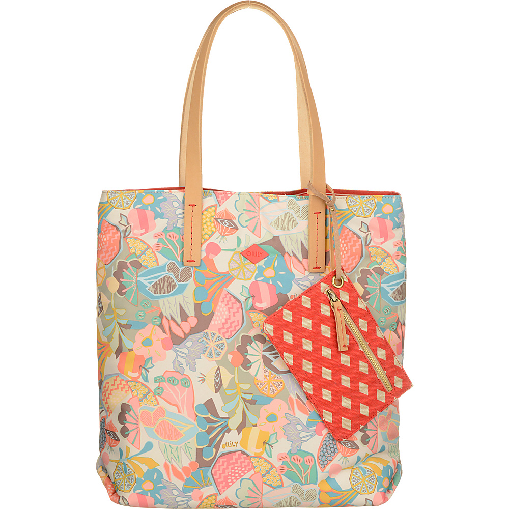 Oilily Tote Pastel Oilily Fabric Handbags