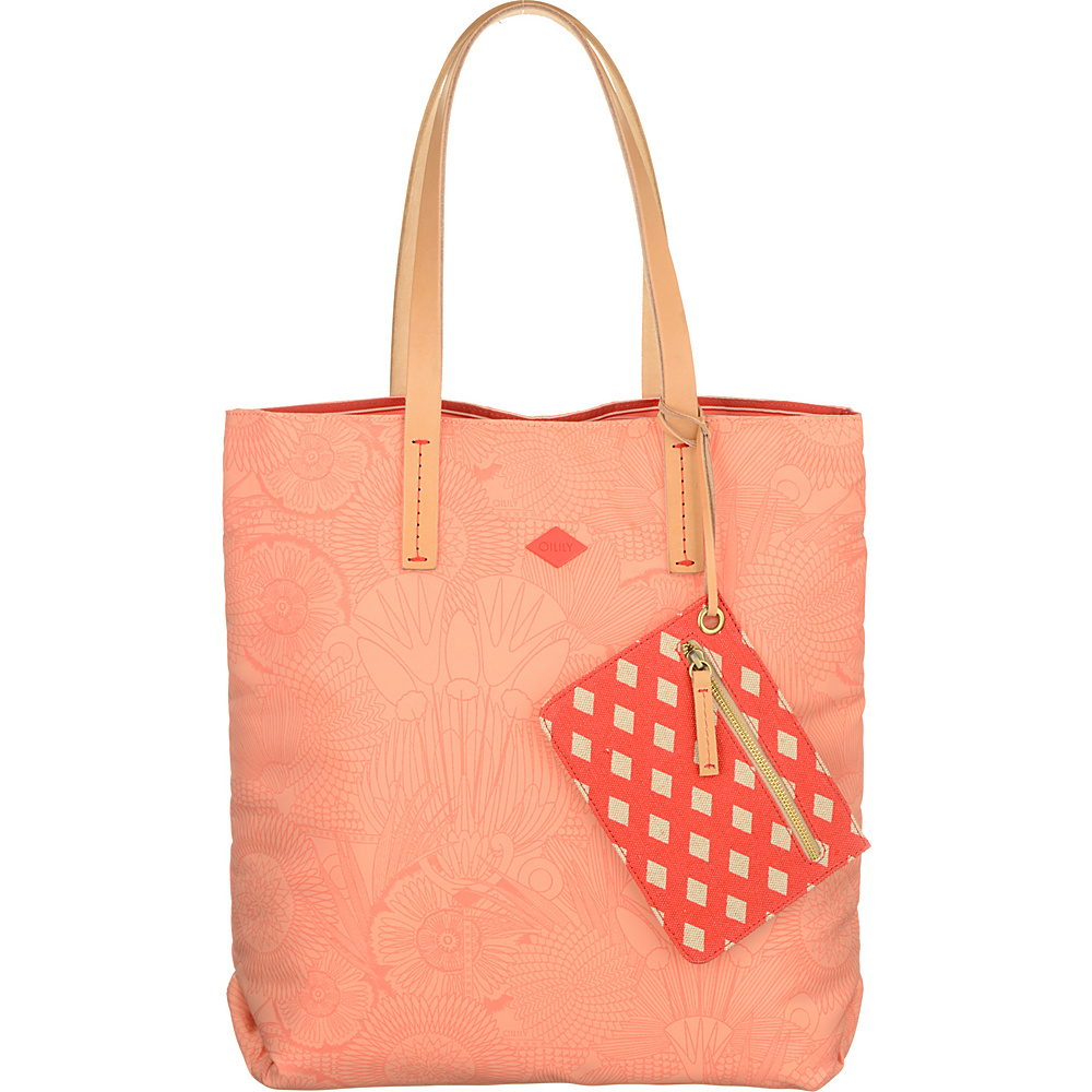 Oilily Tote Marshmallow Oilily Fabric Handbags