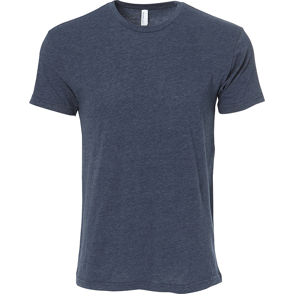 Simplex Apparel CVC Mens Crew Tee L - Obisidian Navy - Simplex Apparel Mens Apparel - Apparel & Footwear, Men's Apparel