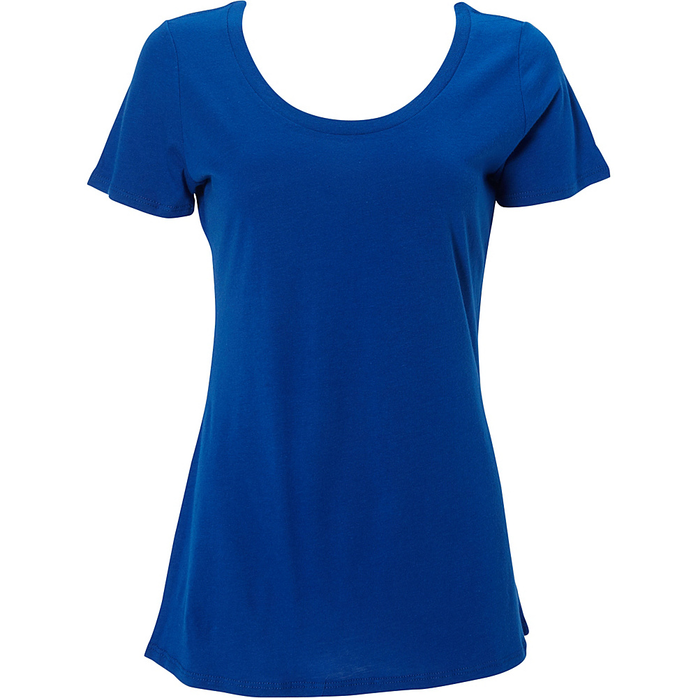 Simplex Apparel Modal Womens Scoop Tee 2XL - Royal - Simplex Apparel Womens Apparel - Apparel & Footwear, Women's Apparel