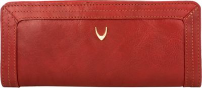 Hidesign Cerys Bifold Leather wallet Red - Hidesign Women's Wallets