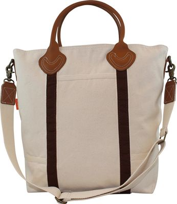 CB Station Flight Travel Bag Brown - CB Station Fabric Handbags