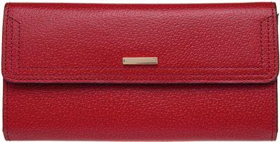 Lodis Stephanie Under Lock & Key Checkbook Wallet Red - Lodis Women's Wallets