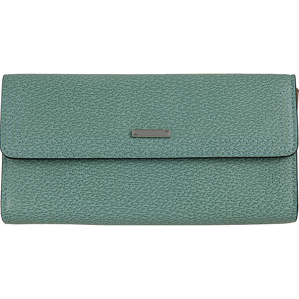 Lodis Stephanie Under Lock & Key Checkbook Wallet Ocean - Lodis Womens Wallets - Women's SLG, Women's Wallets