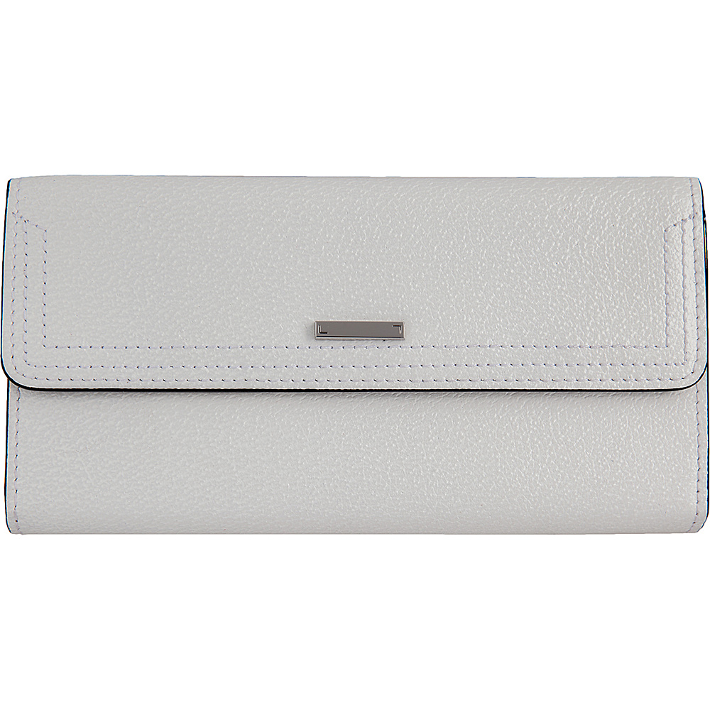 Lodis Stephanie Under Lock & Key Checkbook Wallet White - Lodis Womens Wallets - Women's SLG, Women's Wallets