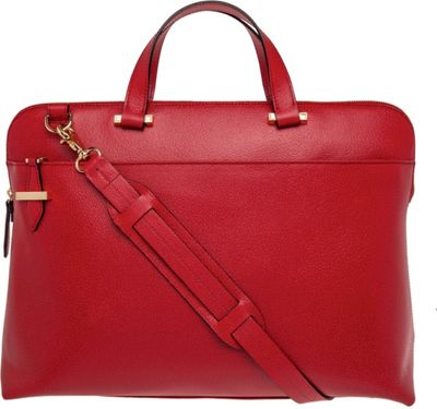 Lodis Stephanie Under Lock & Key Jamie Brief Red - Lodis Leather Handbags