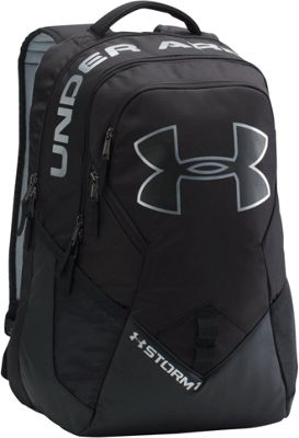 Under Armour Big Logo IV Backpack Black/ Black/ Silver - Under Armour Everyday Backpacks 10561895