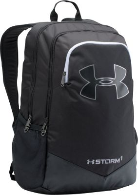 Under Armour Boys Scrimmage Backpack Black/White/Silver - Under Armour Business & Laptop Backpacks