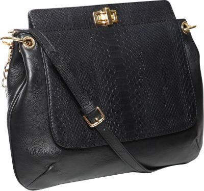 Gregory Sylvia Bartlett Crossbody Bag Black - Gregory Sylvia Leather Handbags