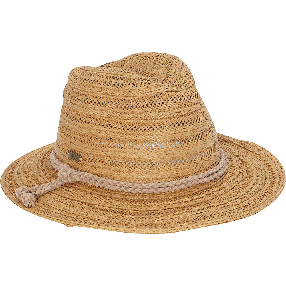Sun N Sand Rope Safari Hat One Size - Toast - Sun N Sand Hats/Gloves/Scarves - Fashion Accessories, Hats/Gloves/Scarves