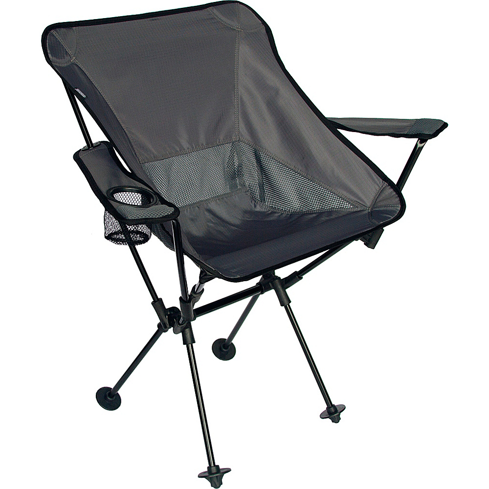 Travel Chair Company Wallaby Chair Black Travel Chair Company Outdoor Accessories