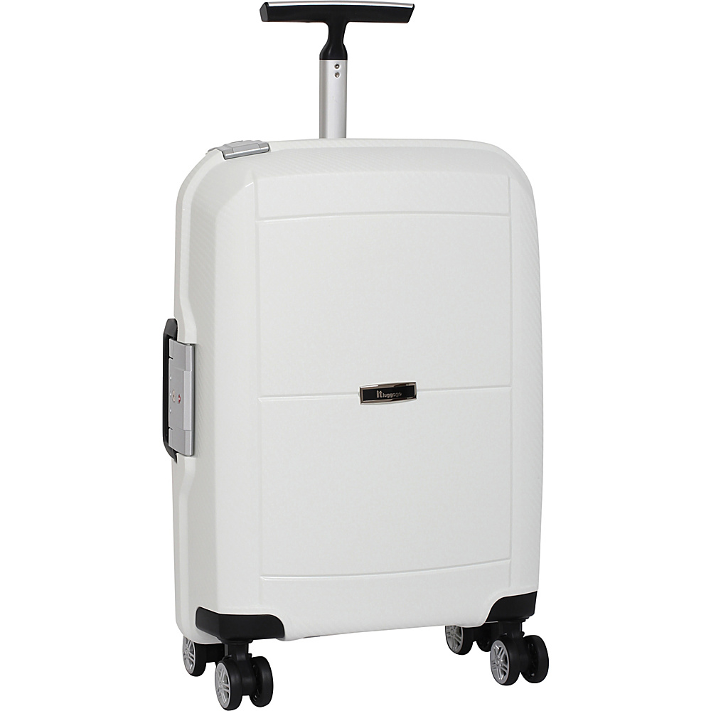 it luggage Monoguard 21.5 inch 8 Wheel Carry On Spinner - CLOSEOUT White - it luggage Hardside Luggage