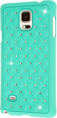 Image of EMPIRE GLITZ Bling Accent Case for Samsung Galaxy Note 4 Mint - EMPIRE Personal Electronic Cases
