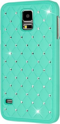 EMPIRE GLITZ Bling Accent Case for Samsung Galaxy S5 Mint - EMPIRE Electronic Cases