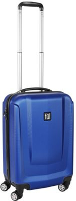 ful Load Rider Series 20in Spinner Upright Luggage Cobalt - ful Hardside Carry-On