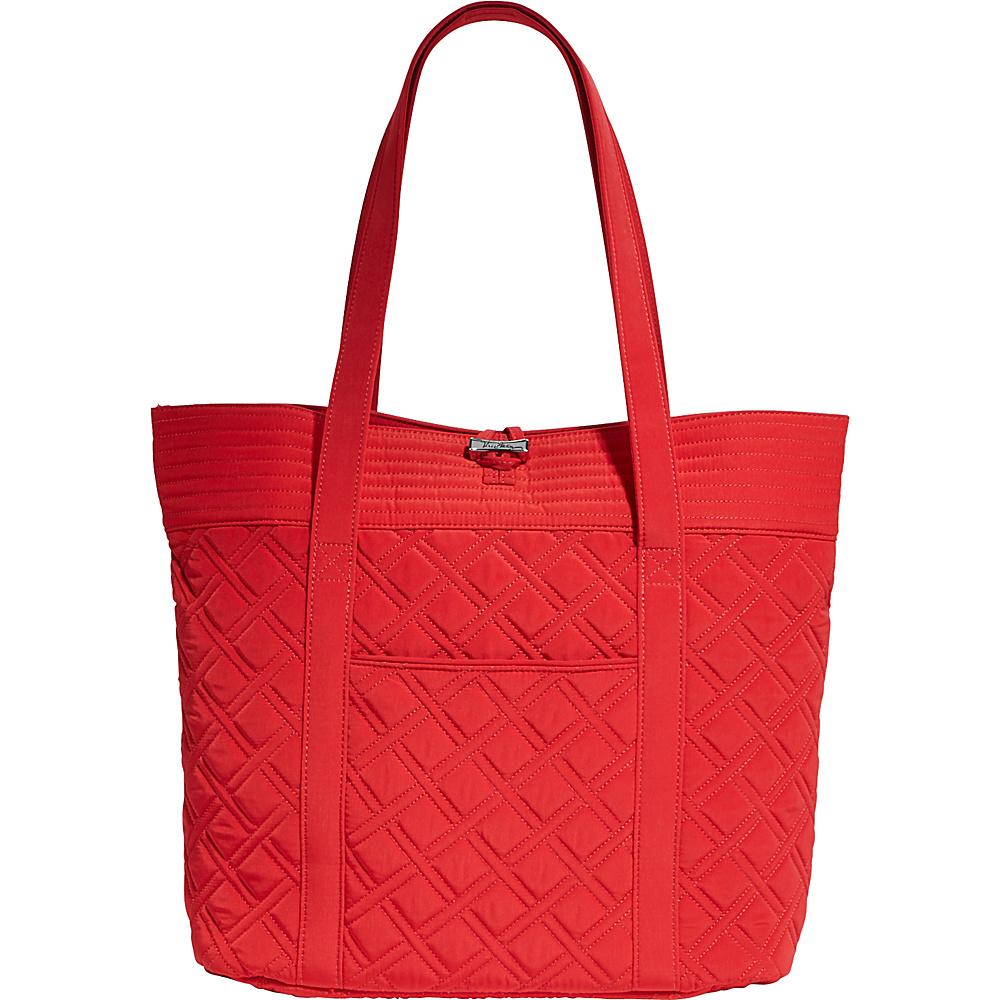 Vera Bradley Tote- Retired Colors Tango Red - Vera Bradley Fabric Handbags