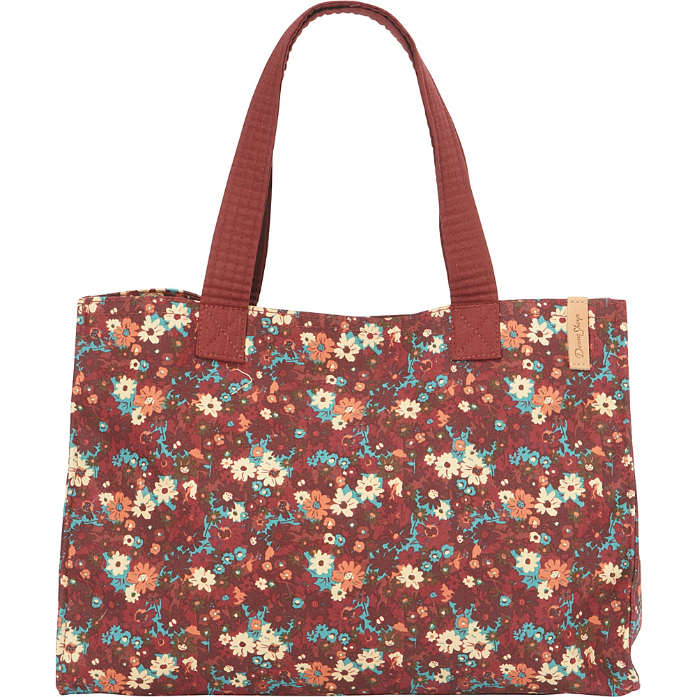 Donna Sharp Shelley Tote Autumn Flower Donna Sharp Fabric Handbags