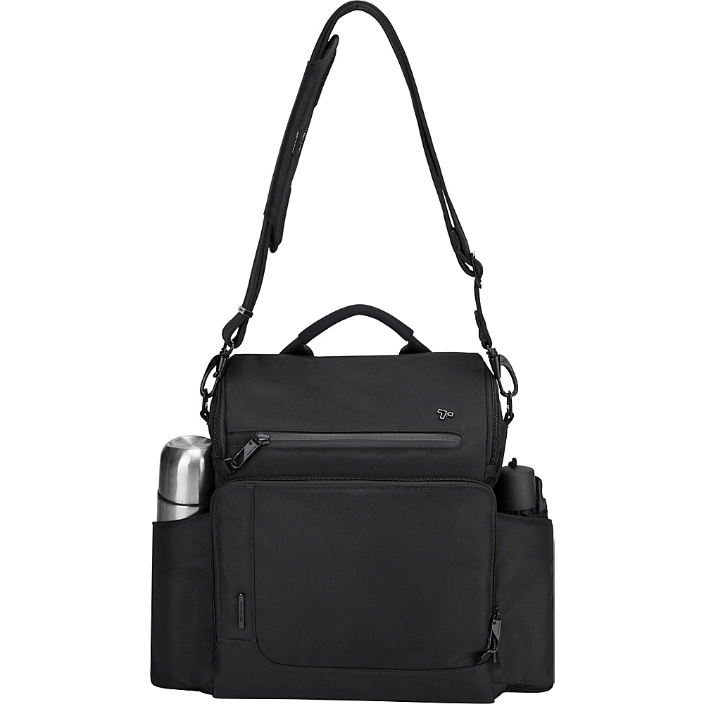 Travelon Anti-Theft Urban N/S Tablet Messenger Black - Travelon Messenger Bags - Work Bags & Briefcases, Messenger Bags