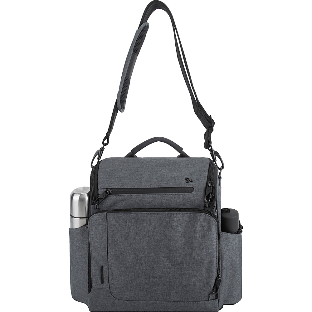 Travelon Anti-Theft Urban N/S Tablet Messenger Slate - Travelon Messenger Bags - Work Bags & Briefcases, Messenger Bags