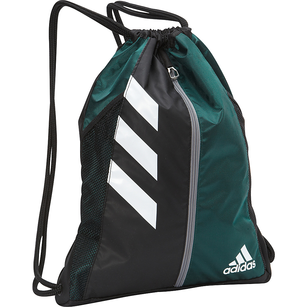 3e3cb1214656 Under Armour Undeniable Sackpack White.  24.95. ShoeMall. Adidas Team Issue  Sackpack (Dark Green Black)