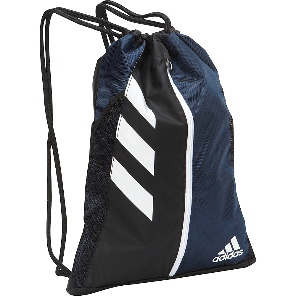 adidas Team Issue Sackpack Collegiate Navy Black White adidas Everyday Backpacks
