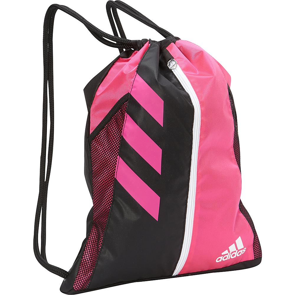 adidas Team Issue Sackpack Shock Pink Black White adidas Everyday Backpacks