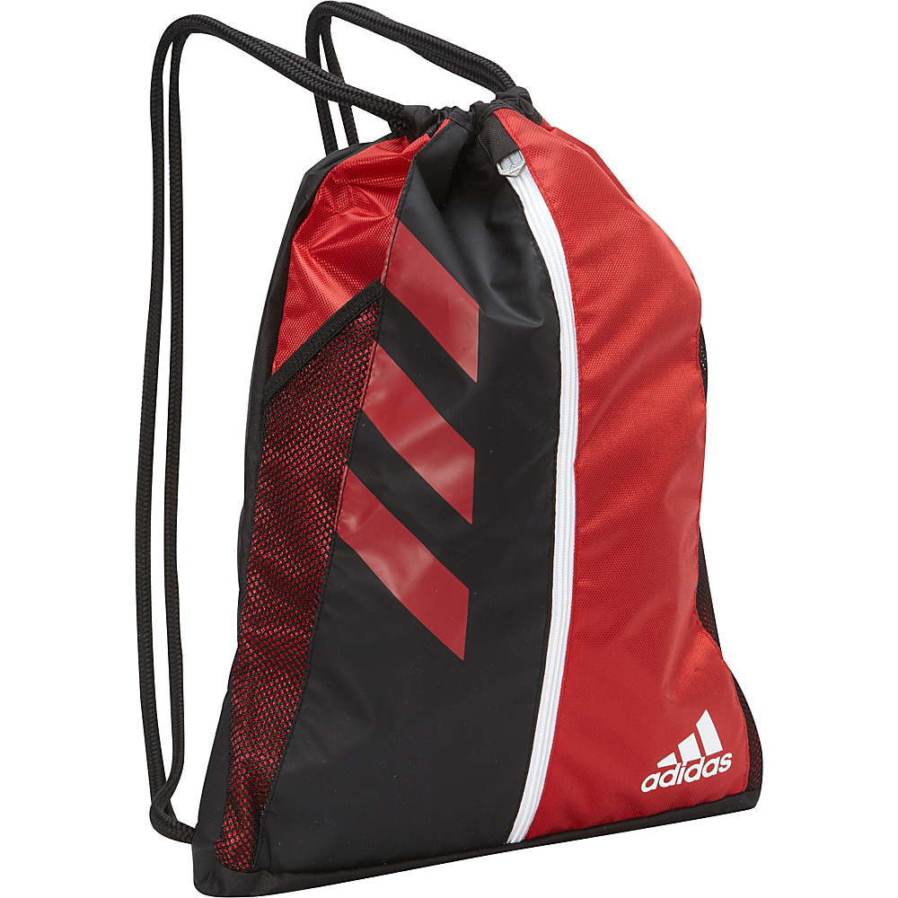 adidas Team Issue Sackpack Power Red Black adidas Everyday Backpacks