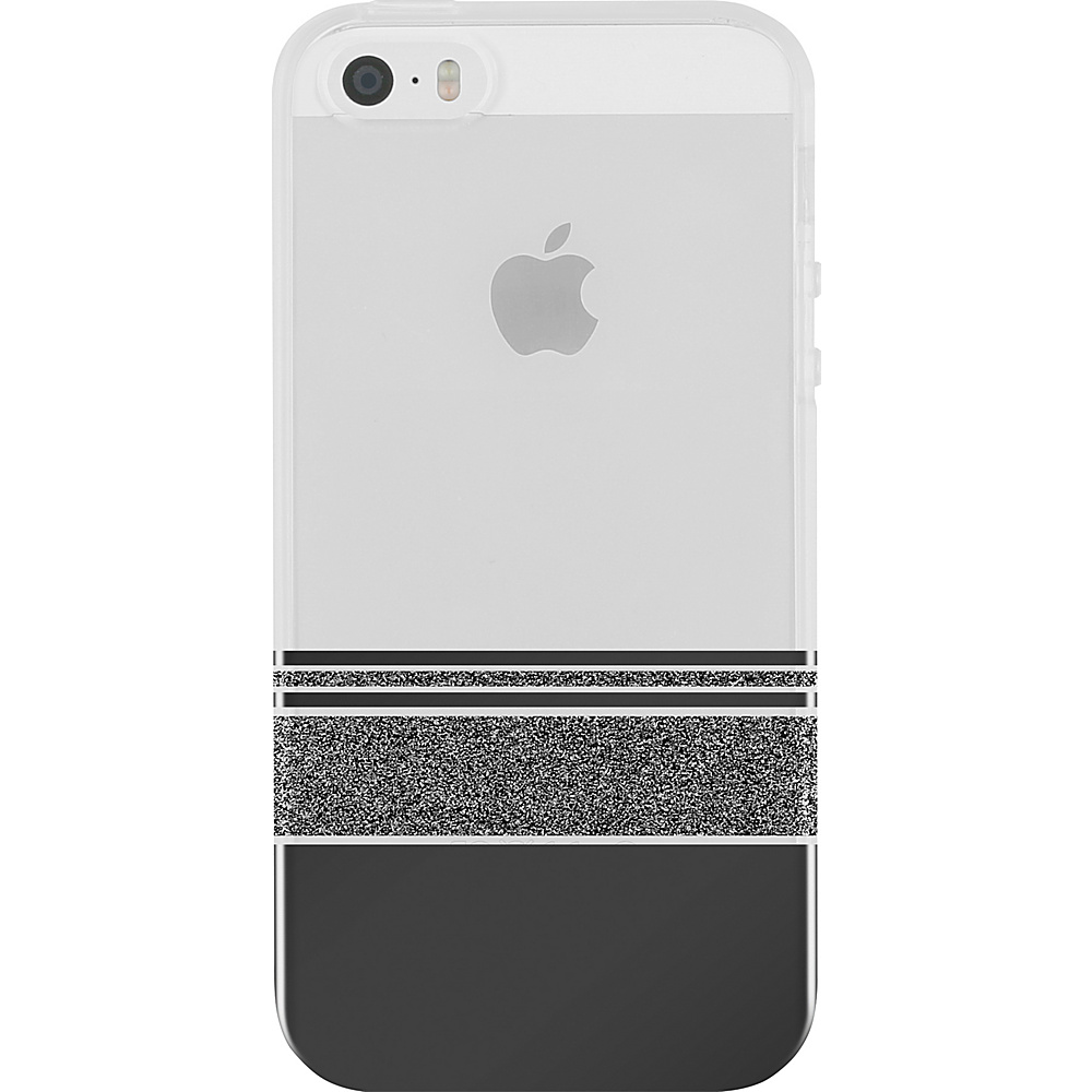 Incipio Design Series Wesley Stripes for iPhone 5/5s/SE Black - Incipio Electronic Cases - Technology, Electronic Cases