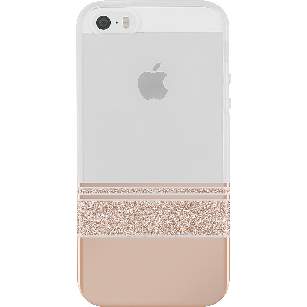 Incipio Design Series Wesley Stripes for iPhone 5/5s/SE Rose Gold - Incipio Electronic Cases - Technology, Electronic Cases