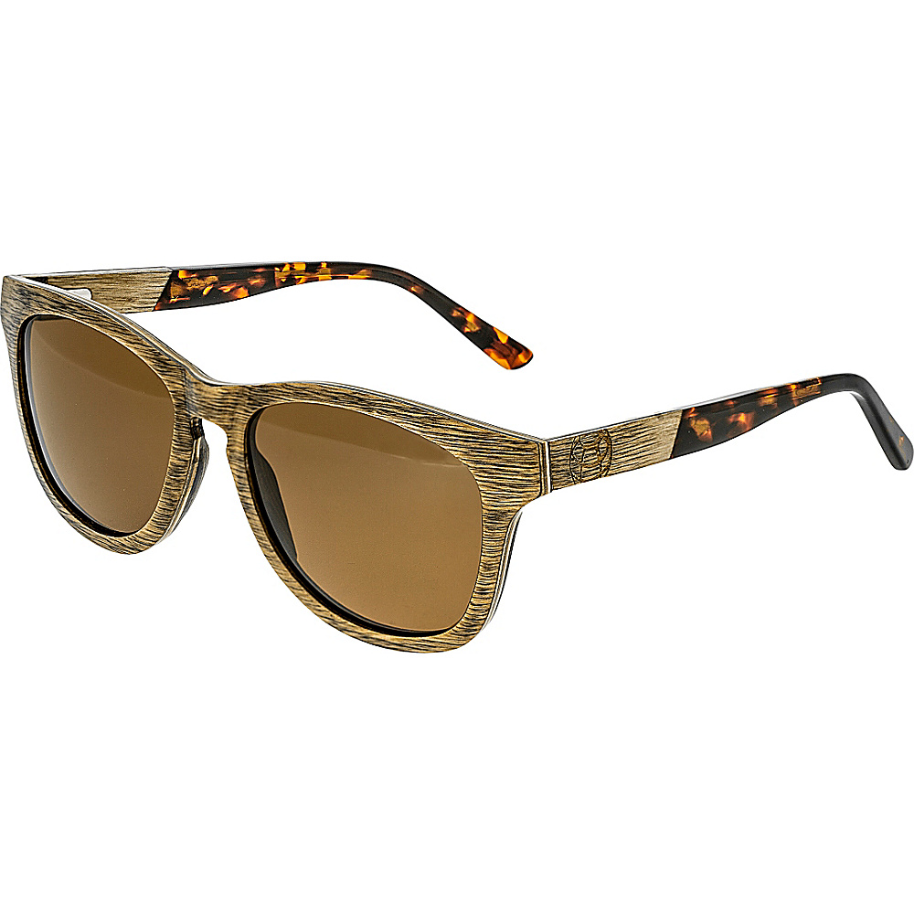 Earth Wood Cove Wood Sunglasses Brown Earth Wood Sunglasses