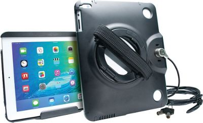 CTA Digital Anti Theft Case With Stand IPad Black - CTA Digital Electronic Cases