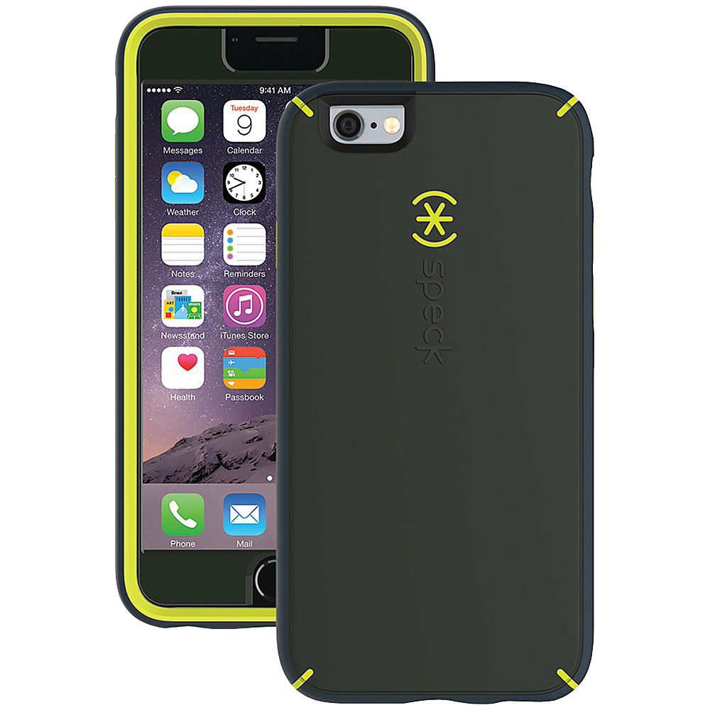 Speck IPhone 6 Plus 6s Plus Mightyshell Case Dusty Green Antifreeze Yellow Charcoal Gray Speck Electronic Cases