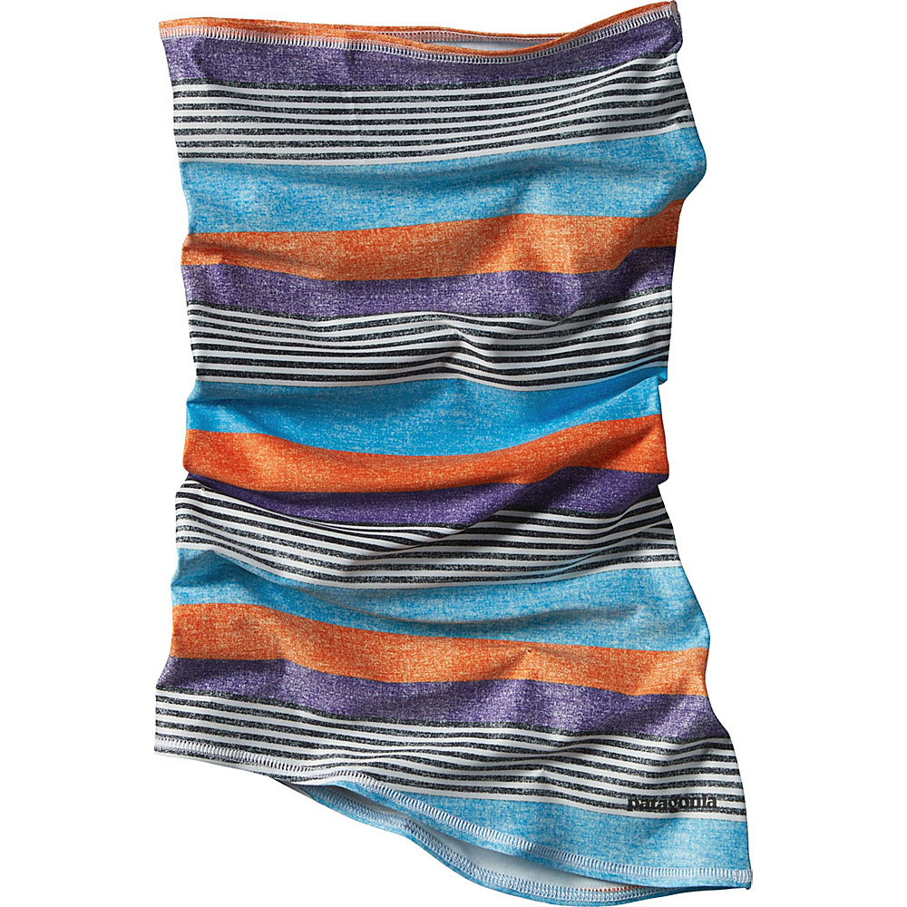 Patagonia Sun Mask Fitz Stripe P-6: Purple - Patagonia Hats/Gloves/Scarves - Fashion Accessories, Hats/Gloves/Scarves