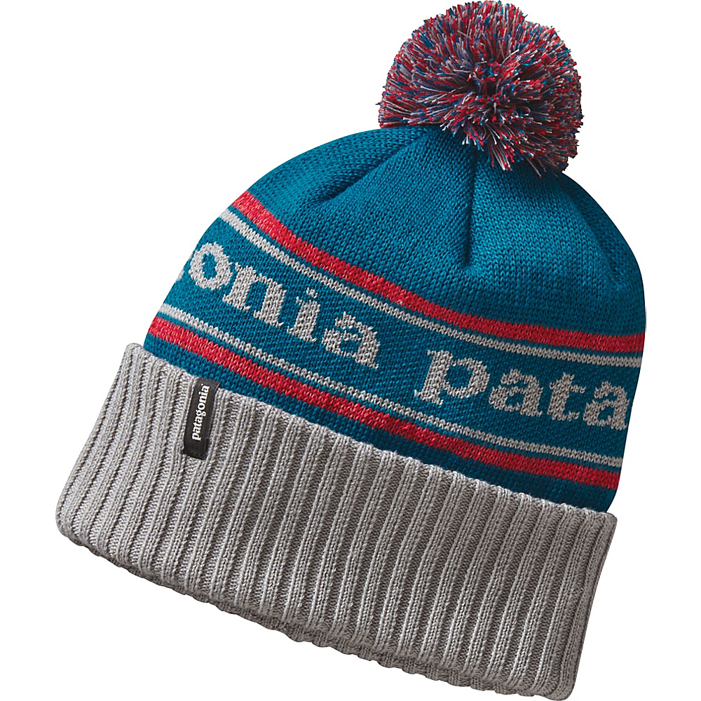 Patagonia Powder Town Beanie One Size - Park Stripe: Drifter Grey - Patagonia Hats/Gloves/Scarves - Fashion Accessories, Hats/Gloves/Scarves