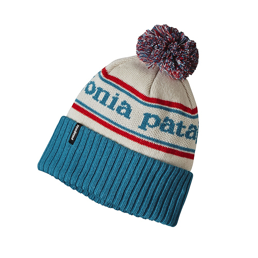 Patagonia Powder Town Beanie One Size - Park Stripe: Grecian Blue - Patagonia Hats/Gloves/Scarves - Fashion Accessories, Hats/Gloves/Scarves