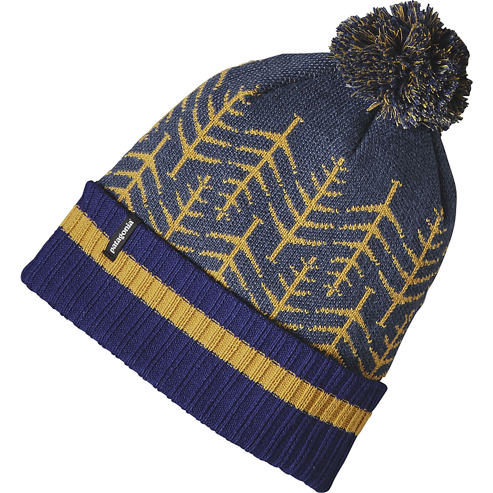 Patagonia Powder Town Beanie One Size - Silent Snow: Lupine - Patagonia Hats/Gloves/Scarves - Fashion Accessories, Hats/Gloves/Scarves