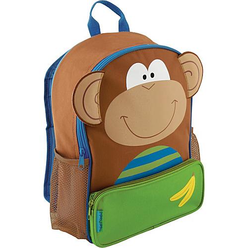 Stephen Joseph Sidekicks Backpack Monkey - Stephen Joseph Everyday Backpacks