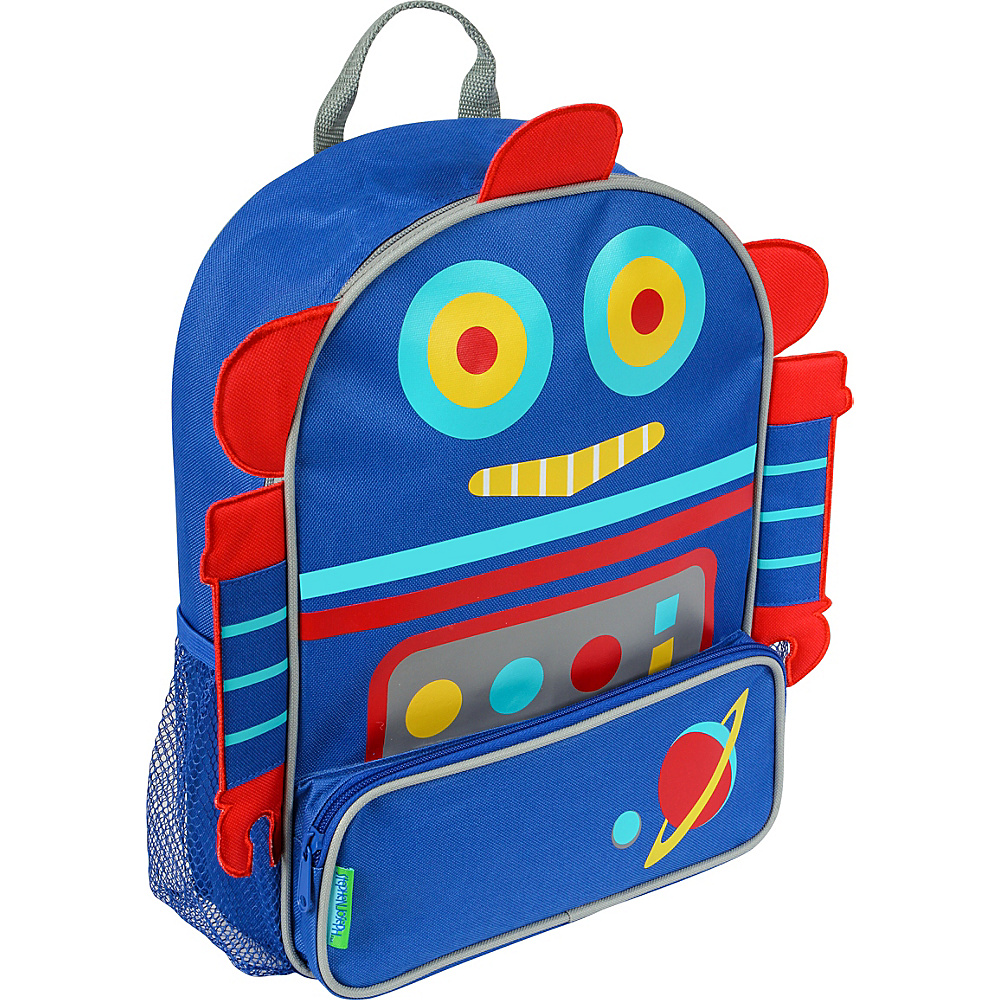 Stephen Joseph Sidekicks Backpack Robot - Stephen Joseph Everyday Backpacks - Backpacks, Everyday Backpacks