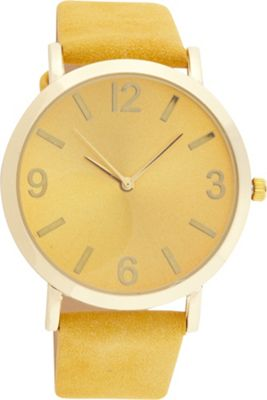 Samoe Band Watch Mustard with Gold Round Face - Samoe Watches