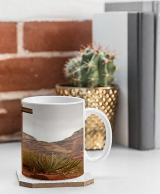 Deny Designs Barbara Sherman Coffee Mug Trail Orange - End of Trail - Deny Designs Outdoor Accessories