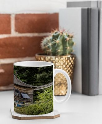 Deny Designs Barbara Sherman Coffee Mug Wood - Lobster Shack - Deny Designs Outdoor Accessories