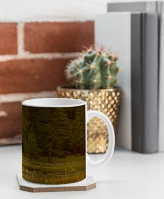 Deny Designs Barbara Sherman Coffee Mug Wood - Peaceful Ranch - Deny Designs Outdoor Accessories