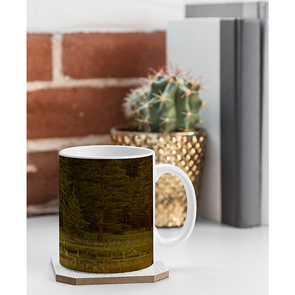 DENY Designs Barbara Sherman Coffee Mug Wood Peaceful Ranch DENY Designs Outdoor Accessories