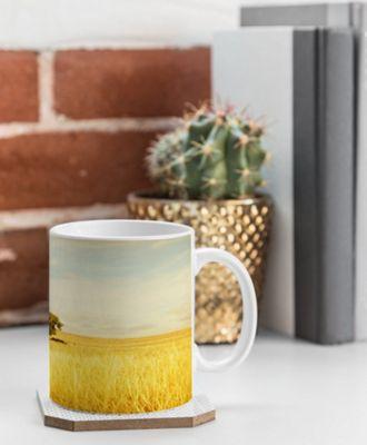 Deny Designs Barbara Sherman Coffee Mug Golden Yellow - Solitary - Deny Designs Outdoor Accessories