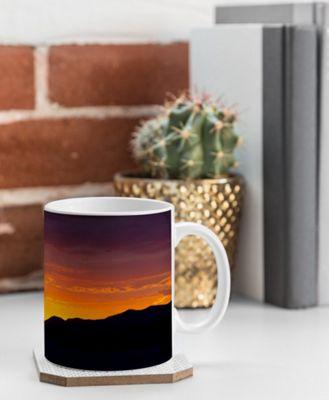 Deny Designs Barbara Sherman Coffee Mug Sunset Orange - Sunset Glory - Deny Designs Outdoor Accessories