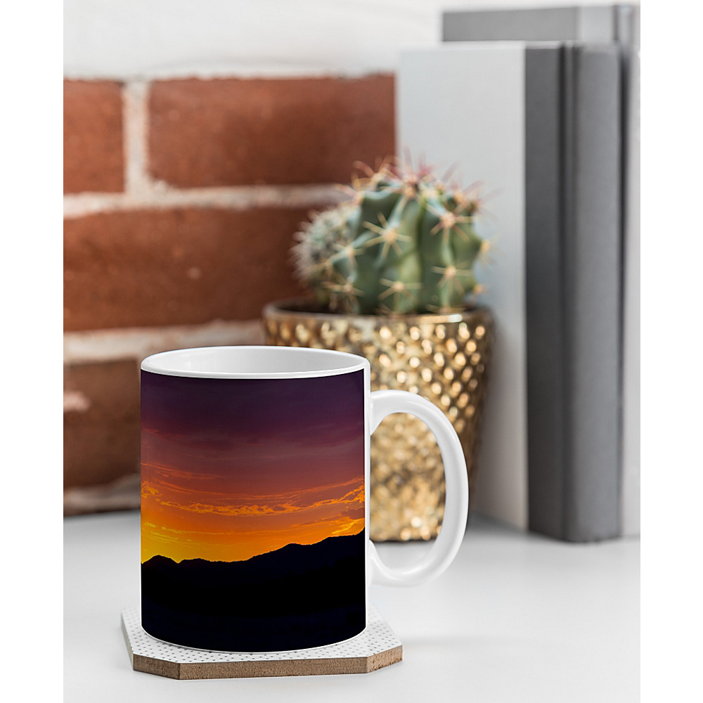 DENY Designs Barbara Sherman Coffee Mug Sunset Orange Sunset Glory DENY Designs Outdoor Accessories