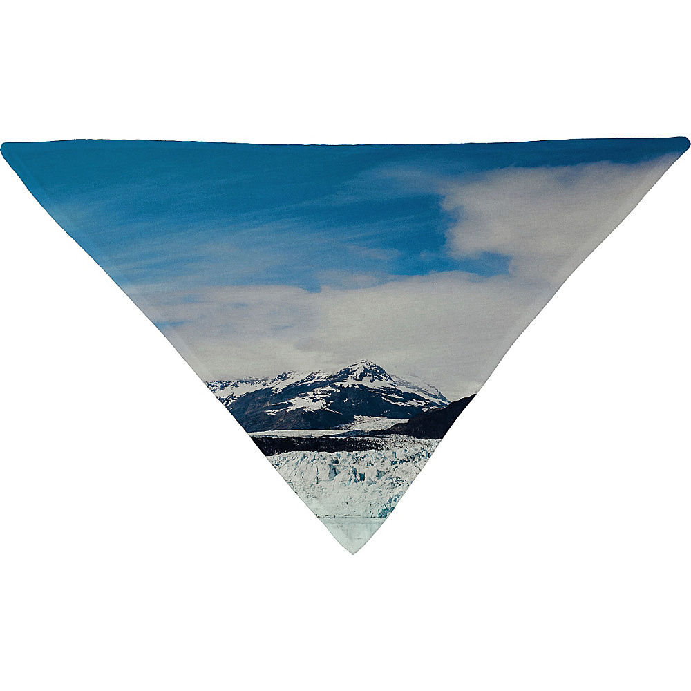 DENY Designs Leah Flores Pet Bandana Sky Blue Glacier Bay National Park DENY Designs Pet Bags