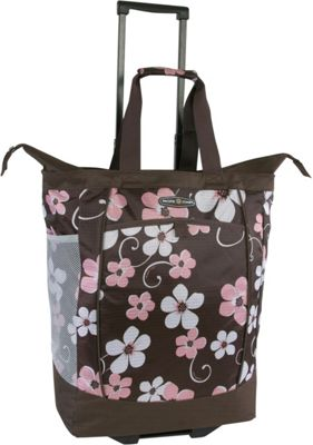 Pacific Coast Rolling Shopping Tote Bag Hawaiian Pink - Pacific Coast All-Purpose Totes