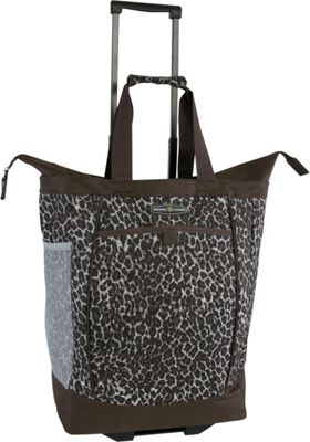 Pacific Coast Rolling Shopping Tote Bag Leopard - Pacific Coast All-Purpose Totes